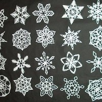 20 mindblowing snowflakes to make with kids
