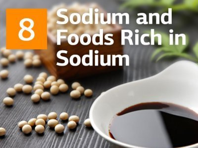 Sodium and 8 Foods Rich in Sodium That Are OK