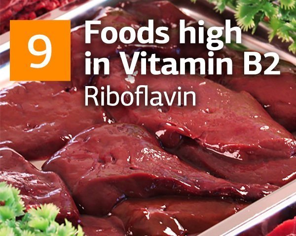 Vitamin B2 and Top 9 Foods Highest in Vitamin B2 (Riboflavin)