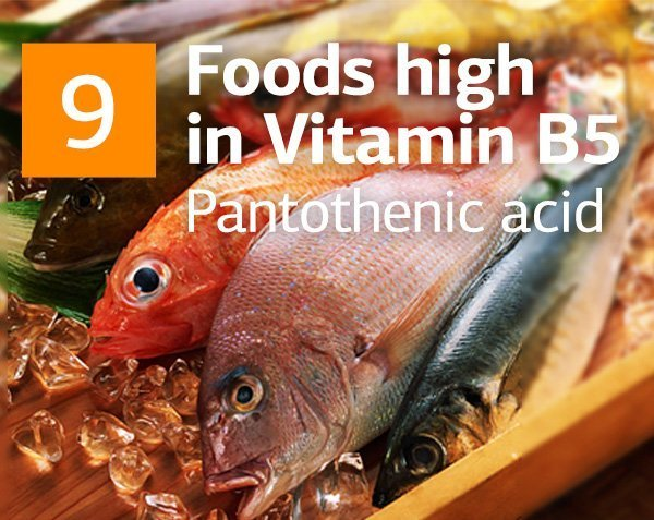 Vitamin B5 and Top Foods Highest in Vitamin B5 (Pantothenic Acid)