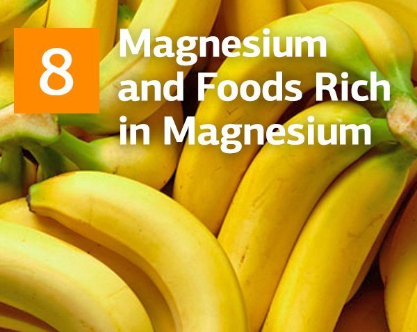 Magnesium and Foods Rich in Magnesium