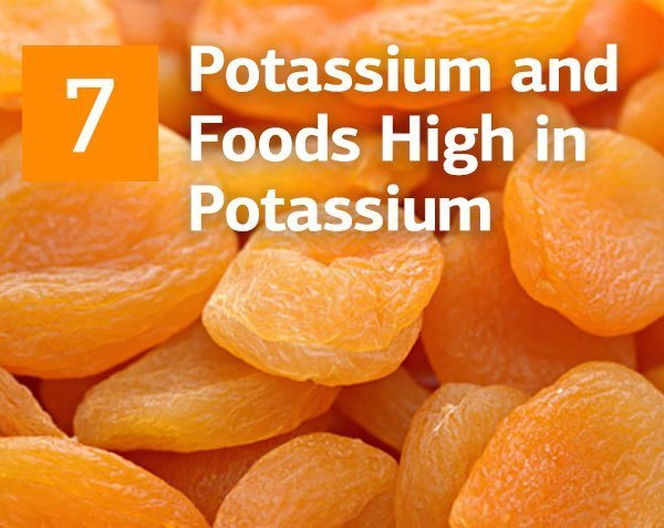 Potassium and 7 Great Foods High in Potassium