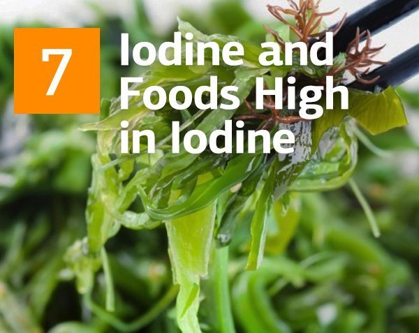 Iodine and Top 7 Foods Highest in Iodine