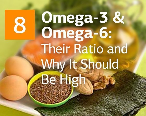 Omega-3 and Omega-6 Fatty Acids: Their Ratio and Why It Should Be High