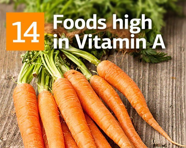 Vitamin A and Top 14 Foods High in Vitamin A