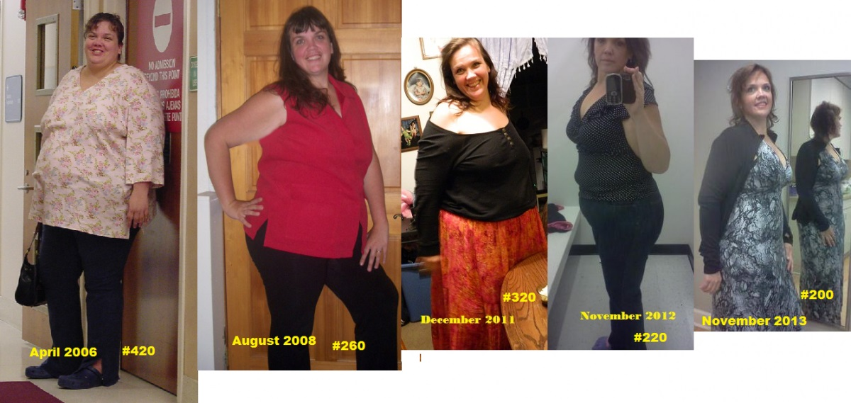 Healthy lifestyle for losing 220 pounds