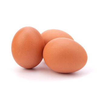 Eggs Saturated fat info