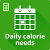 Daily calorie needs calculator