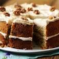 walnut and coffee cake
