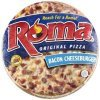 Roma bacon cheeseburger pizza Calories