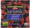 ShopRite berries organic, mixed Calories