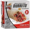 High Tech Burrito burrito steak fajita Calories