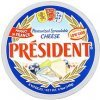 President cheese pasteurized spreadable Calories