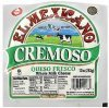 El Mexicana cheese whole milk cheese, cremoso Calories