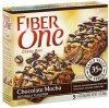 Fiber One chewy bars chocolate mocha Calories