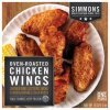 Simmons chicken wings oven roasted Calories