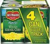 Del Monte corn fresh cut golden sweet whole kernel Calories