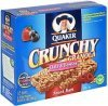 Quaker crunchy granola snack bars oats & berries Calories