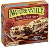 Nature Valley granola bars sweet & salty nut, almond Calories