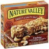 Nature Valley granola bars sweet & salty nut, cashew Calories