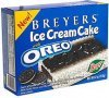 Breyers ice cream cake with oreo Calories