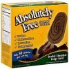 Absolutely Free ice cream gourmet, double chocolate fudge swirl Calories
