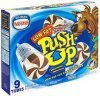 Push-Up ice cream low fat, chocolate and vanilla, scooby doo Calories
