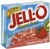 Jell-o low calorie gelatin dessert sugar free, strawberry kiwi Calories