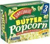 Simple Snacks organic popcorn butter Calories