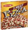 Valu Time pizza 3 meat Calories