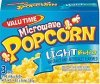 Valu Time popcorn microwave light butter Calories