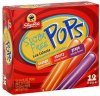 ShopRite pops sugar free, orange, cherry, grape Calories