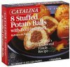 Catalina potato balls stuffed, with beef and pork Calories