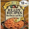 Margaret Holmes red beans and rice Calories