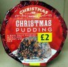 Iceland rich fruit christmas pudding Calories