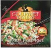 Gourmet Dining shrimp fried rice Calories