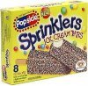 Popsicle sprinklers ice cream bars Calories