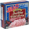 Jell-o sugar free low calorie gelatin dessert sparkling wild berry Calories
