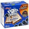 Pop Tarts toaster pastries frosted blueberry Calories