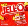 Kraft tropical fusion artificially flavored jell-o gelatin dessert Calories