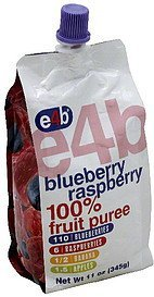 100% fruit puree blue raspberry e4b Nutrition info