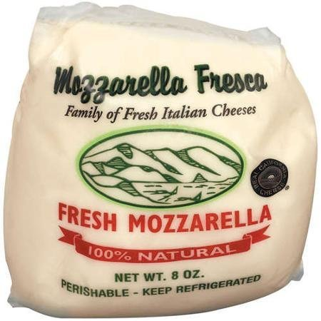100 natural fresh mozzarella Mozzarella Fresca Nutrition info