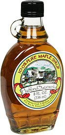 100% pure maple syrup Highland Sugarworks Nutrition info