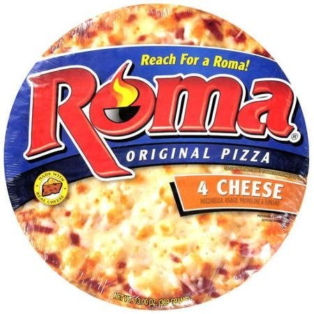 4 cheese pizza Roma Nutrition info
