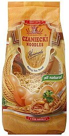 5 egg noodle rolling thin thread Czaniecki Noodles Nutrition info