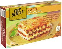 6 cheese lasagna Top Shelf Nutrition info