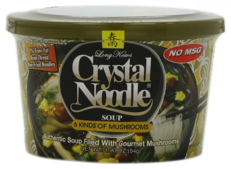6 kinds of mushrooms Crystal Noodle Nutrition info