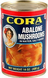 abalone mushrooms Cora Nutrition info