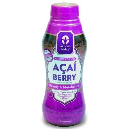 acai berry super juice drink Genesis Today Nutrition info