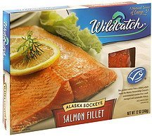 alaska sockeye salmon fillet Wildcatch Nutrition info